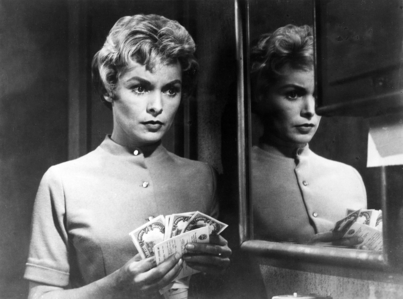 Stage and Screen Personalities. pic: circa 1961. American film actress Janet Leigh in a scene from the film