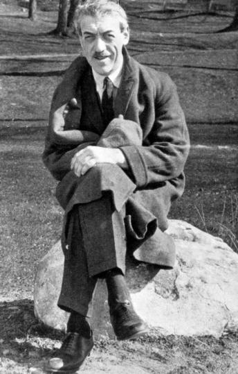 Mauritz Stiller omkring 1925