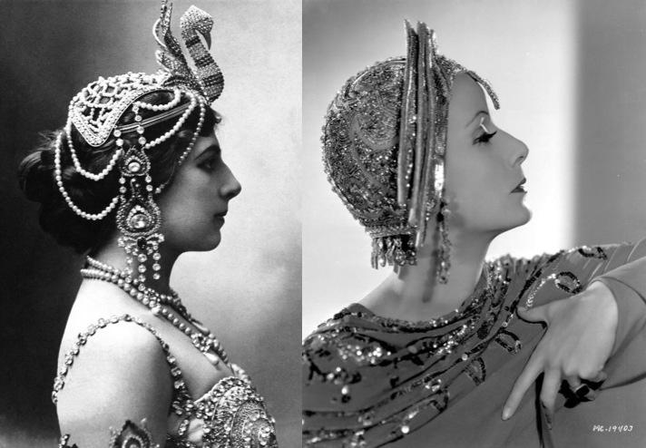 Mata Hari 1910… Greta Garbo 1931